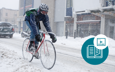 Entretenez votre vélo pour qu'il passe un bon hiver… et vous aussi !